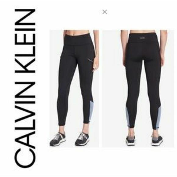 09b5ef3448c4e Calvin Klein Pants   Performance Leggings Zip Pockets Nwt   Poshmark